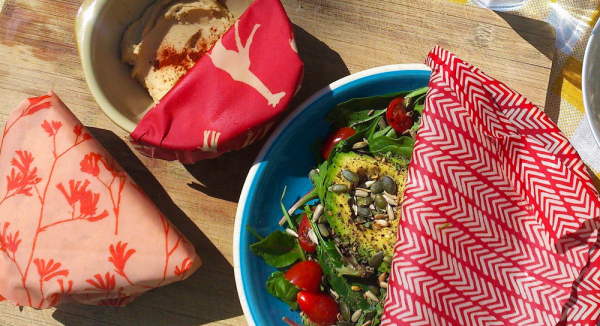 Reusable, green, sustainable food wraps